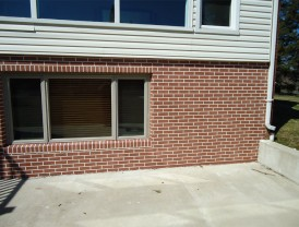 Faux Brick Concrete Refacing