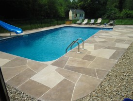Seymour Concrete Pool Deck