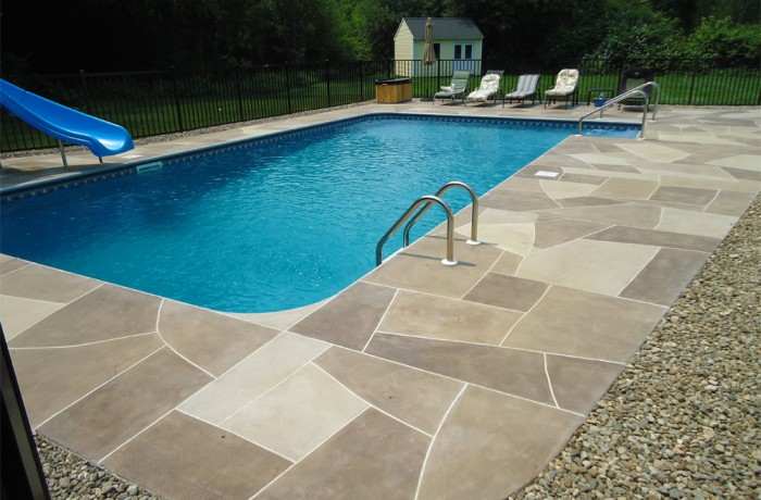 Concrete Pool Deck in Seymour, CT (06483)