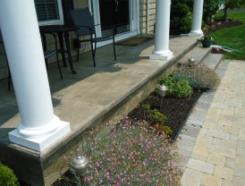 Wallingford Concrete Porch Overlays
