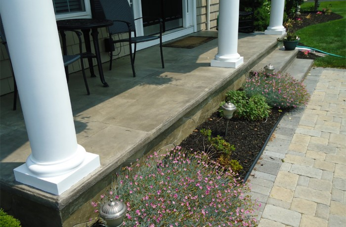 Concrete Front Porch in Wallingford, CT (06492)