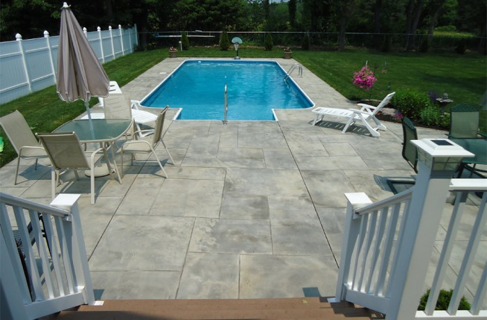 Concrete Pool Deck, Patio In Wallingford, CT (06492)